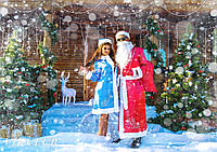 Женский костюм снегурочки 42-50
