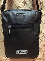 Вместительная мужская сумка PUMA, Columbia на плечо. Отличное качество. Классический дизайн. Код: КДН647