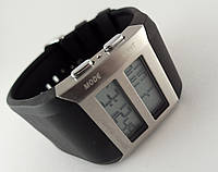 Электронные часы Alberto Kavalli цифровой стиль, стальные