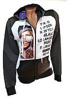Кофта женская с капюшоном puma