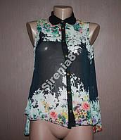 Стильная блузка в цветах №33