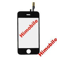 Тачскрин сенсор для Apple iPhone 3GS черный