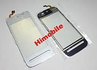 Cенсор тачскрин Nokia 5228, 5230, 5233 белый