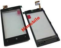 Тачскрин сенсор для Nokia 520 High Copy в рамке