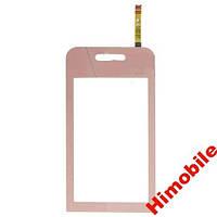 Сенсорный экран тачскрин сенсор Samsung S5230 pink