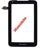 Сенсор тачскрин для Lenovo IdeaTab A1000L черный