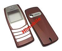Корпус для Nokia 6610i бордовый (панели) High Copy
