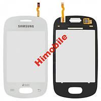 Тачскрин сенсор для Samsung S5280 S5282 белый