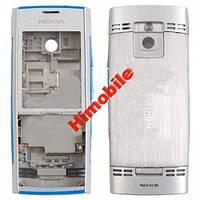 Корпус для Nokia X2-00 серебристый High Copy