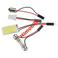 Автомобильная LED лампочка T10 COB 21 7000 - 8000K