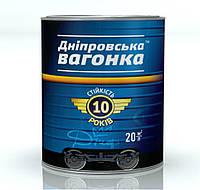 Эмаль Inrafarb Днепровская Вагонка Пф-133 Universal-M 2,5 л Чёрный лак