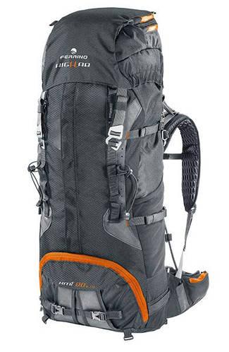 Рюкзак для туризма премиум класса Ferrino XMT 80+10 Black 922868 черный