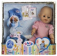 Пупс кукла Baby Born Бейби Борн  807866-1/E интерактивный с аксессуарами