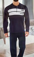 Турецкая мужская пижама №830 большие размеры