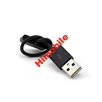 USB дата кабель шнур iPhone iPod iPad черный 12 см