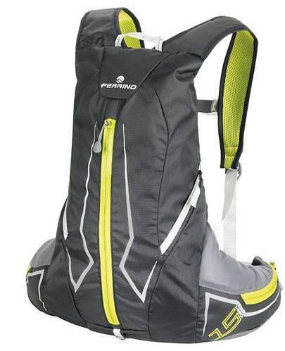 Ультралегкий рюкзак для трейлраннинга и бега Ferrino X-Track 15 Black 922847 черный