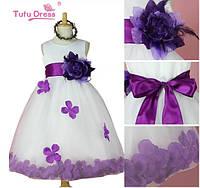 Шикарное платье для девочек, очень нежное, пышное!