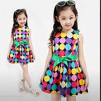 Яркое нарядное платье для девочек!
