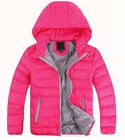 Детские куртки пуховики для девочек, теплые легкие
