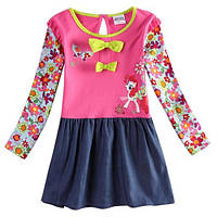 Яркое детское качественное платье, натур. ткань!