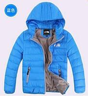 Пуховик куртка для мальчиков, теплая очень легкая!