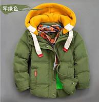 Куртки-пуховики для мальчиков теплые легкие !