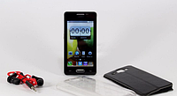 """Мобильный телефон NOTE4 4"""" Black, смартфон на 2 сим карты, сенсорный мобильный телефон Android"""
