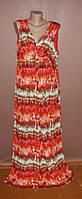 Шикарное платье, яркие цвета. Размер 54!!!  №355