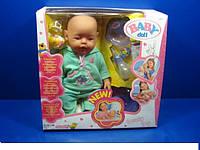 Пупс кукла Baby Born Бейби Борн 058-7 Маленькая Ляля новорожденный с аксессуарами