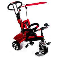 Велосипед колясочный, трехколесный TILLY Combi Trike Red