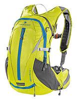 Рюкзак с гидратором для бега, езды на велосипеде Ferrino Zephyr 12+3 Yellow 922897 желтый