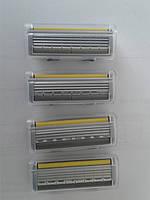 Кассеты мужские для бритья Wilkinson (Schick) Quattro (4) titanium sensitive 4 шт. (Шик Титаниум) Оригинал