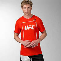 Спортивная футболка Reebok UFC Fan Short Sleeve Triblend AY5225 - 2016/2