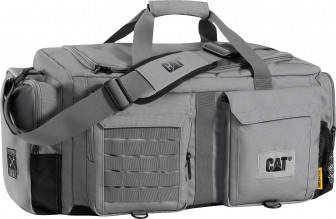 Дорожная сумка 55 л. CAT Combat  83336;289 Серая