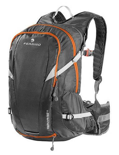 Компактный туристический рюкзак для бега Ferrino Zephyr 22+3 Black 922901 черный