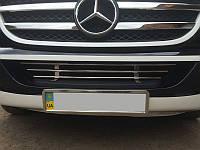 Решётка в бампер для Mercedes Sprinter W906 (нержавейка)