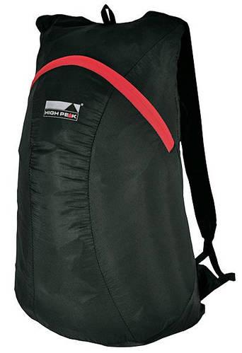 Уникальный городской рюкзак-трансформер High Peak Micra 15 (Black) 923024 черный