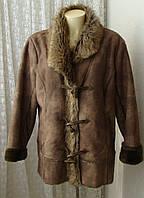 Дубленка искусственная теплая Outfit р.52 7137