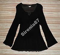 Стильная гофрированная блузка №141