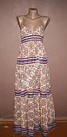 Стильное макси платье №103