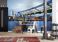 Фотообои на стену «Мост Миллениум в Лондоне». Komar 8-924 Millennium Bridge