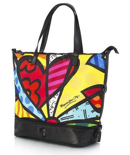 Женская эффектная сумка-трансформер 23 л. Heys Britto Packaway Tote New Day Medium 923244 разноцвет