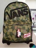 Городской водонепроницаемый рюкзак Vans(Ванс) old school.