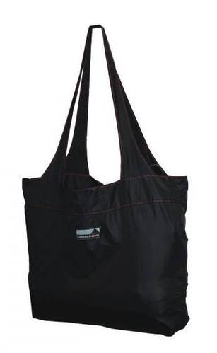 Дорожная суперлегкая женская сумка 12 л. High Peak Electra Shopping Bag 923247 черный