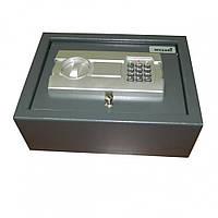 Сейф в пол Арсенал DS 108 E: сталь 2 и 4 мм, коврик, кодовый замок, ключ, индикатор, 10,8х30х22 см
