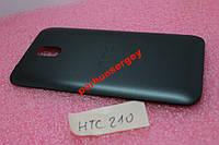 Крышка задняя корпус HTC Desire 210 черная
