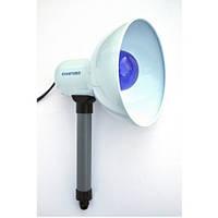 Ручной инфракрасный облучатель КВАРЦ-ИК-СЛ-Р (60 Вт),синяя лампа