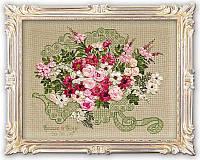 Набор для вышивания крестом «Свадебный букет» (1072), Риолис