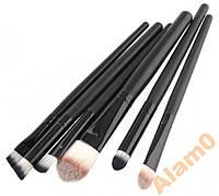 Кисти для макияжа 6 шт, для основы, кисть-карандаш