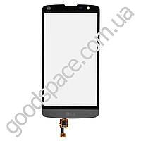 Тачскрин (сенсор) LG D331, D335 L Bello, цвет черный, на 2 sim карты